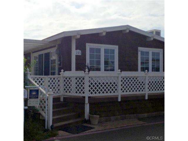 exterior - end of double wide manufactured home after compete remodel