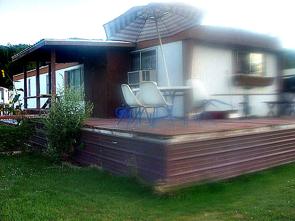 The best mobile home remodel ever for Before and after home exteriors remodels
