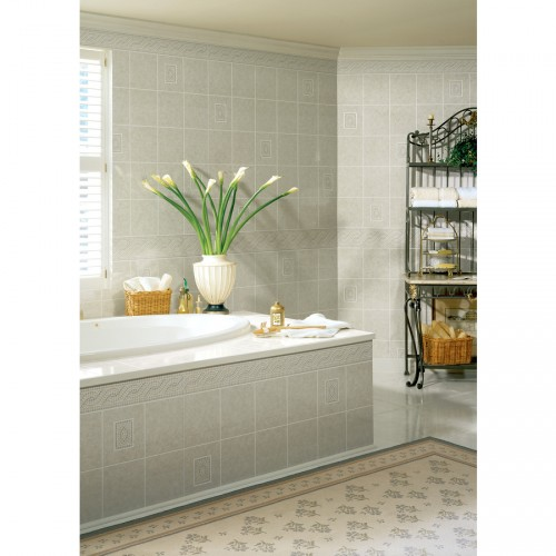 Painting Bathroom Tile Board cheap backsplash ideas: painting tileboard