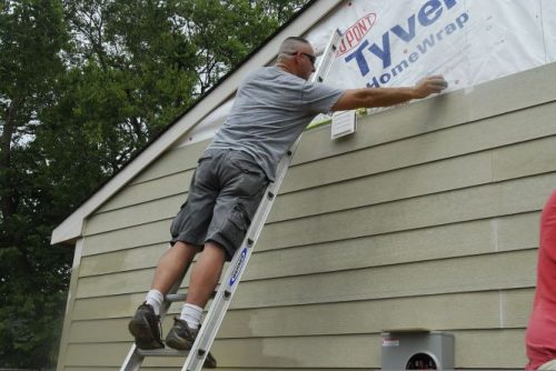 re-siding your mobile home with fiber cement