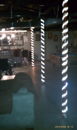 finished basement in a mobile home