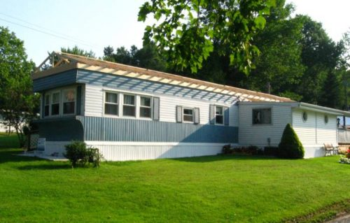 Manufactured home roof replacement