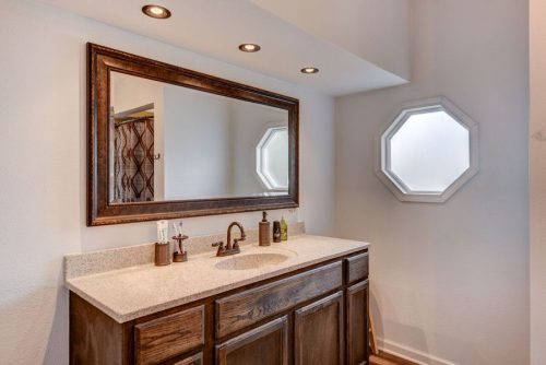 flipping a mobile home-master bath