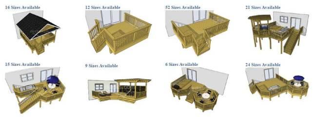 manufactured home porch designs-free deck plans at decks dot com