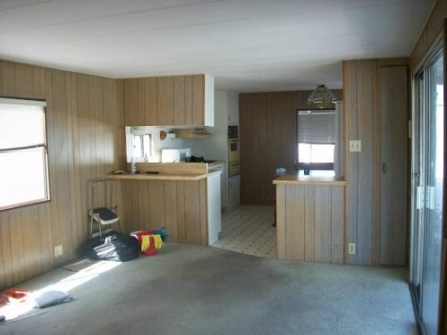 Free mobile home-kitchen before
