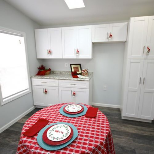 fully renovated single wide-kitchen 2