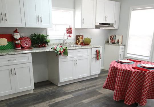 fully renovated single wide-kitchen