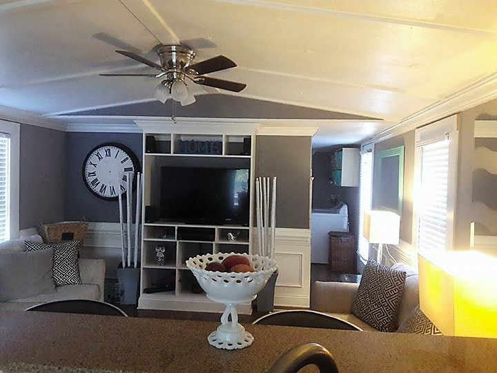 Nice ... Mobile Home Interiors: 1991 Single Wide. Gorgeous 1991 Single  Wide Entertainment Center