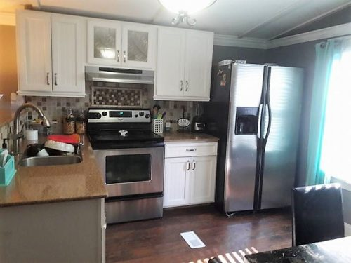 gorgeous mobile home interiors - 1991 single wide-kitchen