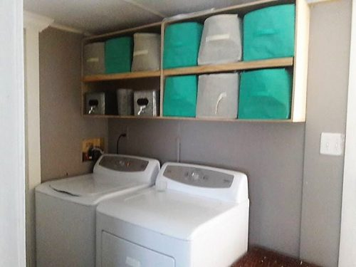 gorgeous mobile home interiors - 1991 single wide-laundry
