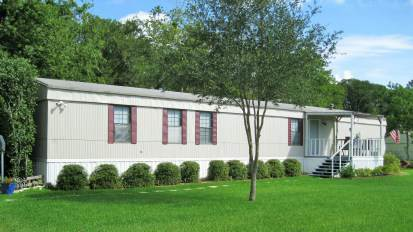 Great mobile home remodel example