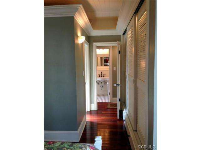 hallway of remodeled double wide