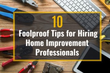 hiring home improvement professionals with text