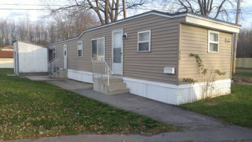 inexpensive mobile homes-fully renovated exterior