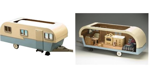 Christmas gifts for mobile home owners-trailer miniature house