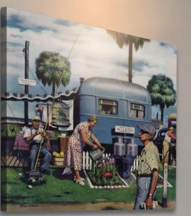 Christmas gifts for mobile home owners-wall art