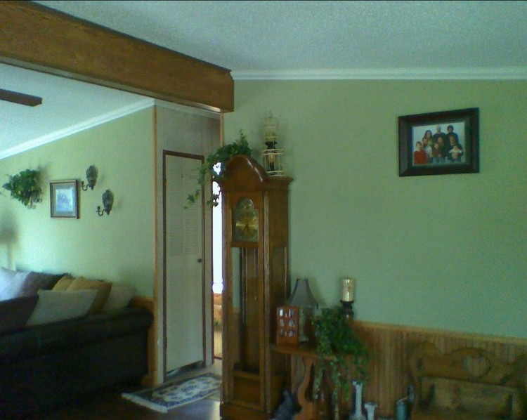 interior after manufactured home remodel