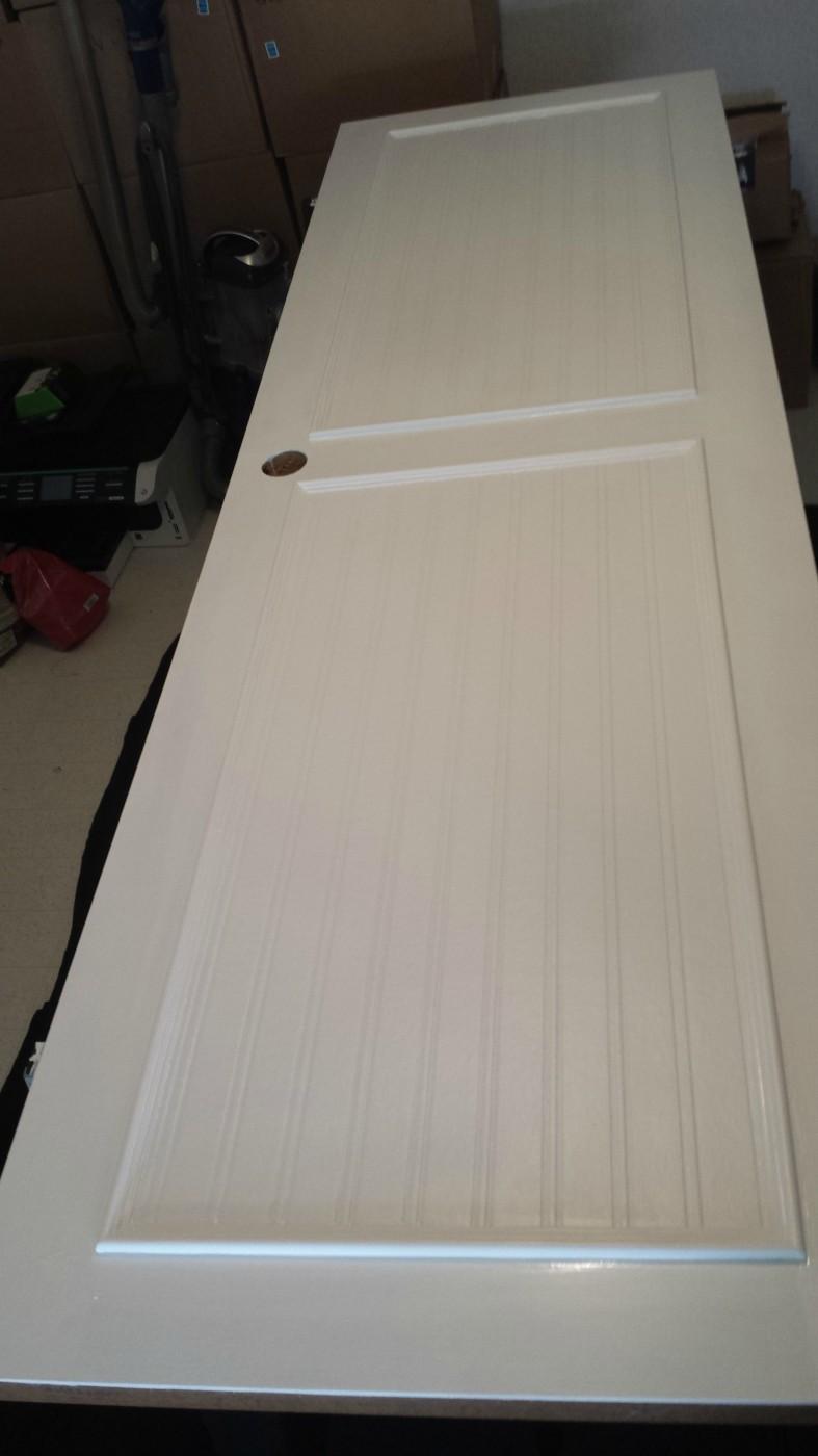 mobile home interior door-interior door makeover step-by-step 3