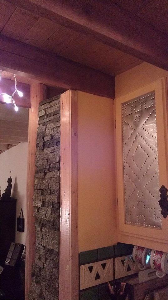 interior of sante fe southwestern vintage mobile home remodel