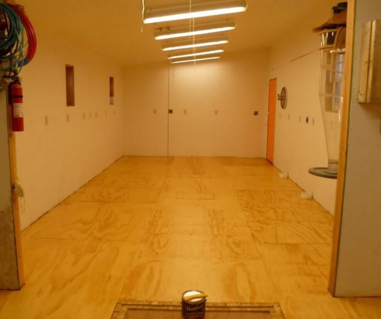 Interior of workshop