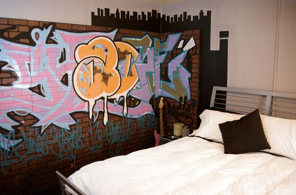 graffiti bedroom decor ideas