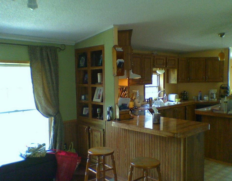 Total double wide manufactured home remodel Manufactured home interior design ideas