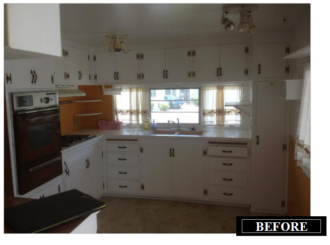 Making the Most of a 520 sq. ft. 1964 Single Wide Mobile Home on remodel my mobile home, remodeled single wide mobile home, remodeling a double wide mobile home interior, remodeling mobile home exterior ideas,