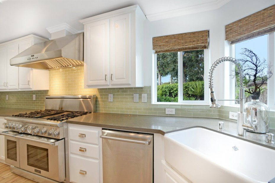 kitchen counter top in malibu mobile home