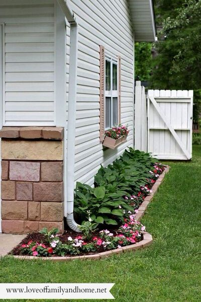 landscaping inspiration-flower beds