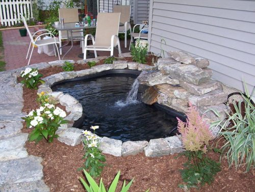landscaping inspiration-pond
