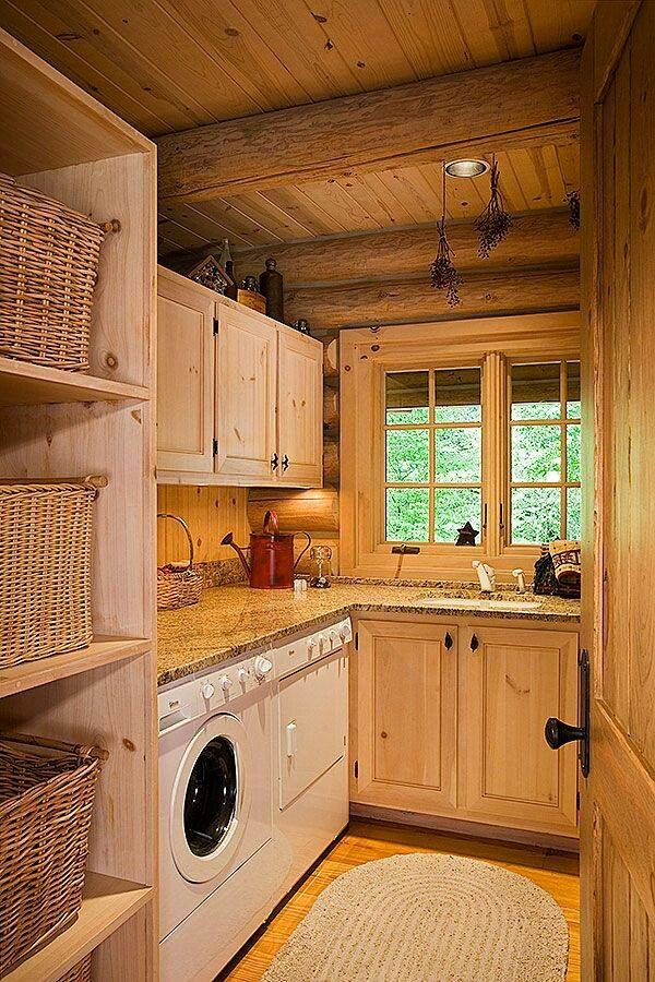 laundry-room-makeover ideas - country