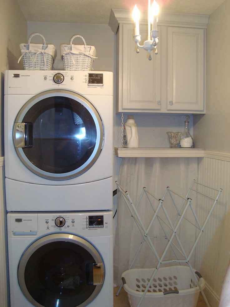 Laundry room makeover ideas for your mobile home Tiny room makeover