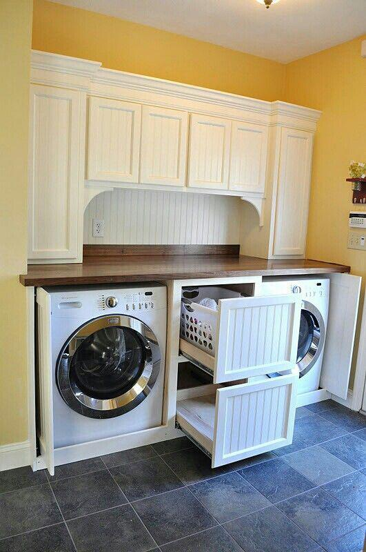 Organized Laundry - Counter space