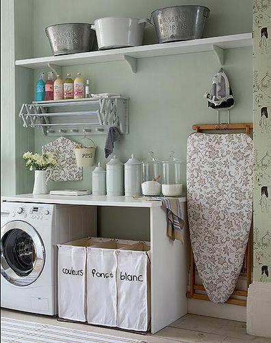 laundry room makeover ideas - calm