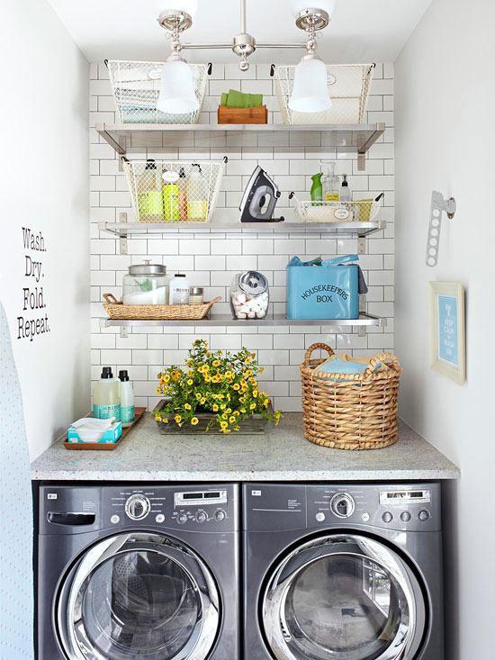 laundry room makeover ideas - fresh