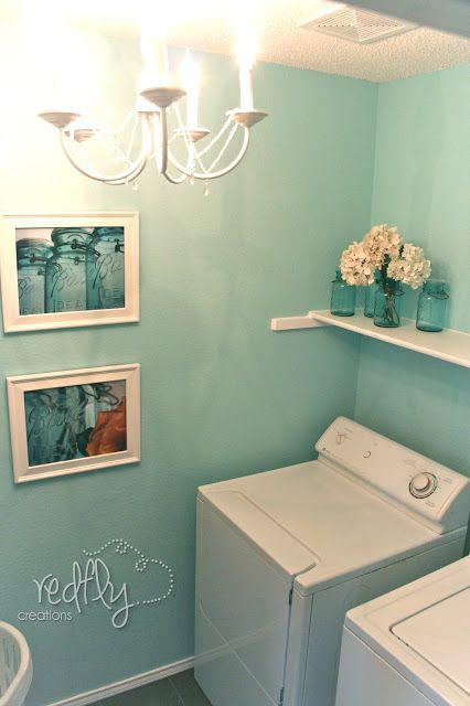 laundry room makeover ideas - simple