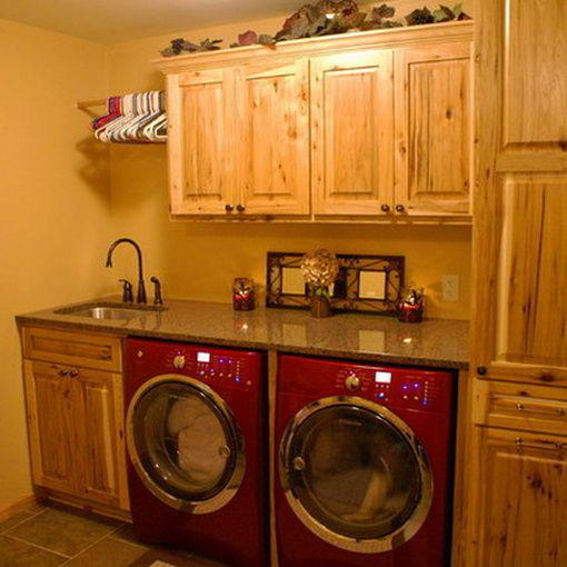 Laundry room makeover ideas - wood