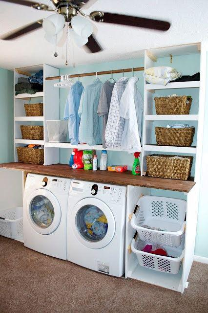 Laundry room makeover ideas for your mobile home mobile for How to add a laundry room to your house