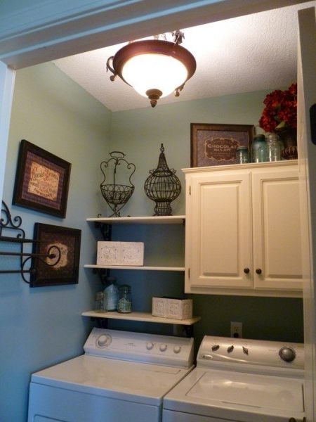 laundry room update ideas-mix it up