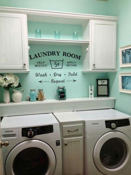 laundry room update ideas-wash dry fold
