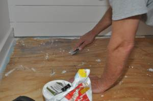 Questions about mobile home subfloors - laying new subfloors down in a mobile home