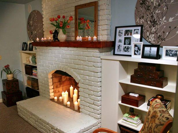 living room fireplace design ideas
