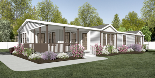 New manufactured home designs modern farmhouse style for Farmhouse style modular homes