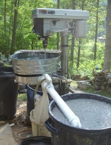 making papercrete