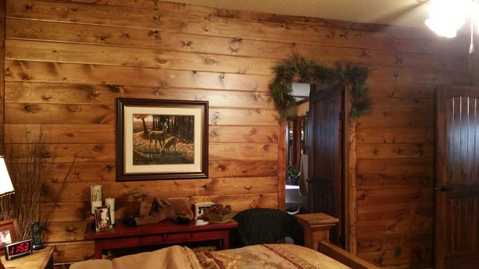 Gorgeous rustic cabin manufactured home remodel Mobile home interior walls