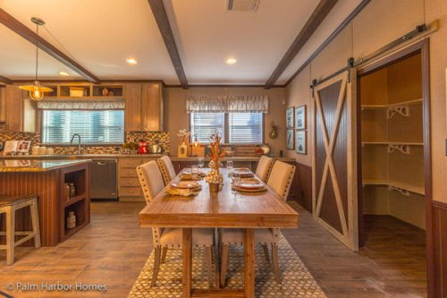 manufactured home design-dining room