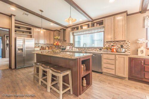 Manufactured home design-kitchen