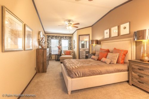 Manufactured home design-master bedroom