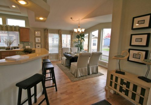 manufactured home design options-dining room