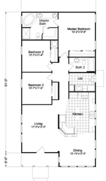 manufactured home design options-floor plan